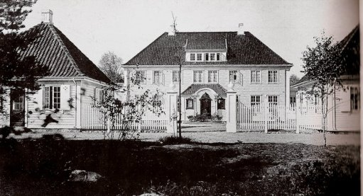 Kloumannvillaen - eksteriør