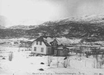 Maskinistbolig på Søndenåhaugen - 1916