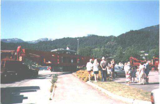 Transport av transformator til Austarheim 20.08.1995